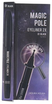 Holika Holika Holika Holika Magic Pole Eyeliner 2x 01 Black Holika Holika