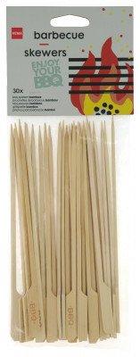 HEMA HEMA Barbecue Spiezen Bamboe 20cm - 30 Stuks