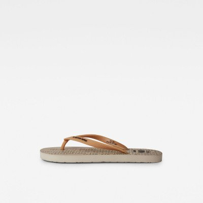 G-Star RAW Carnic Slippers - Beige - Dames