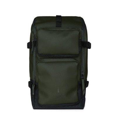 Rains Rains Charger Backpack Green
