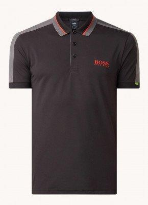 Boss BOSS Paule slim fit polo met logoprint