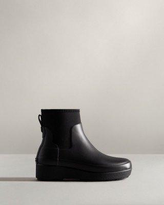Hunter Boots Women's Refined Slim Fit Neoprene Creeper Chelsea Boots