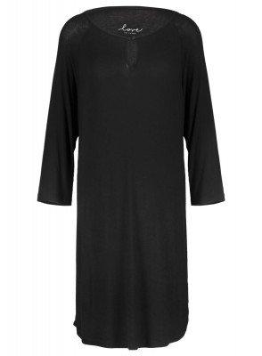 HEMA Dames Nachthemd Zwart (zwart)