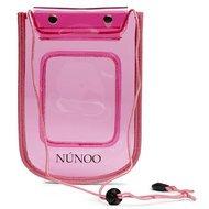 Nunoo Beach Wallet Transparent Pink