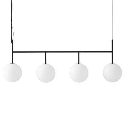 Menu Menu TR Bulb DTW LED 4lamps zwart/opaal mat