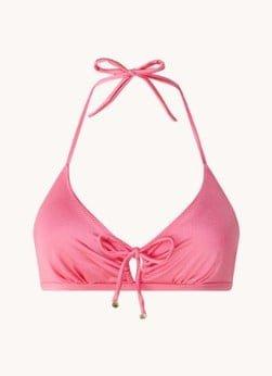 love stories Love Stories Carly triangel bikinitop met gestrikt detail