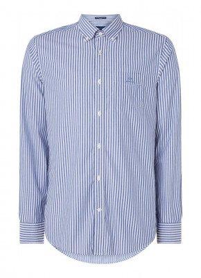 Gant Gant The Broadcloth regular fit overhemd met borstzak