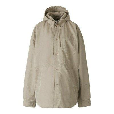 Balenciaga Hooded Parka Shirt