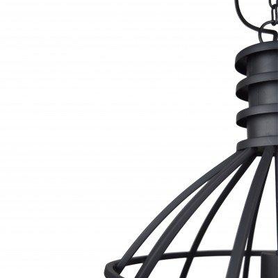Urban Interiors Urban Interiors hanglamp 'Tube' Ø50, kleur Vintage Black