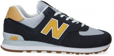 New Balance Blauwe New Balance Lage Sneakers Ml574