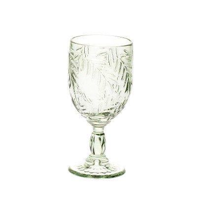 Riverdale NL Wijnglas Palm grijsgroen 17cm
