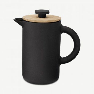 MADE.COM Stelton Theo French Press cafetiere, zwart