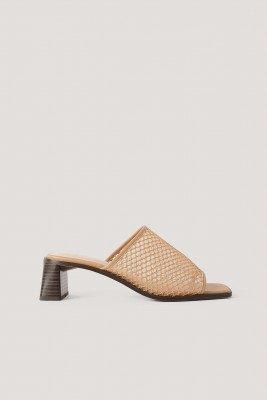 NA-KD Shoes Muiltjes - Nude