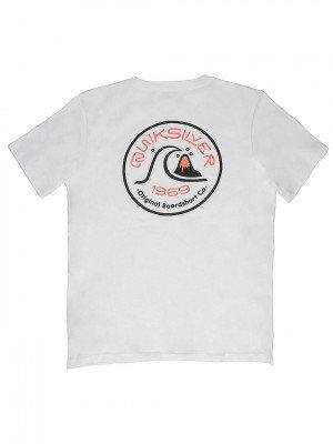 Quiksilver Quiksilver Close Call T-Shirt wit