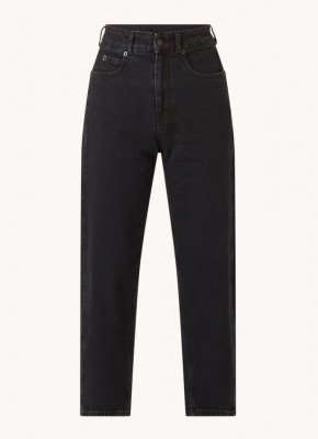 Whistles Whistles Barrel high waist tapered fit cropped jeans