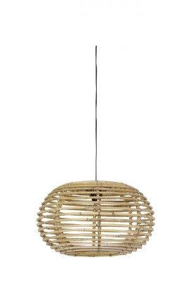 Light en Living Light & Living Hanglamp 'Alana' 60cm, rotan naturel