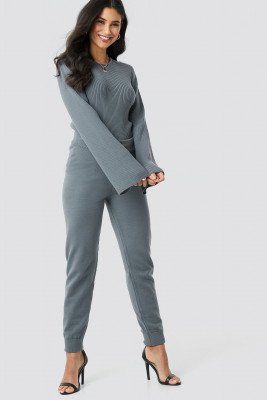 XLE the Label Ty Knitted Pants - Grey