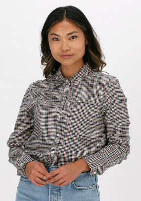 Tommy Jeans Beige Tommy Jeans Blouse Tjw Regular Fit Check Shirt