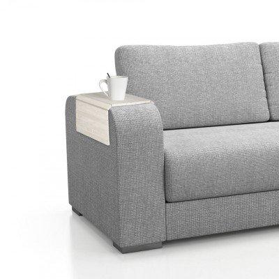 Dienblad Sofa - 45x24 cm - naturel