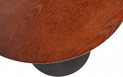 WOOOD Exclusive WOOOD Exclusive Bijzettafel 'Odin' Ø48cm, kleur Walnoot