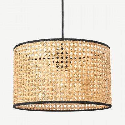 MADE.COM Sagres lampenkap voor tafellamp, riet