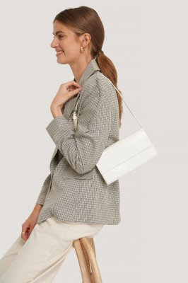 NA-KD Accessories Baguette Tas - White