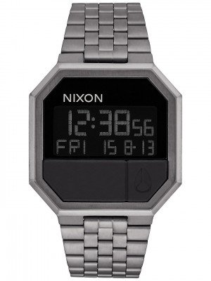 Nixon The Re-Run grijs