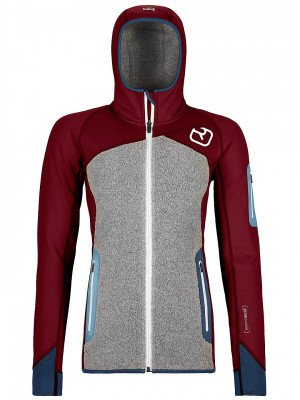 Ortovox Ortovox Plus Hooded Fleece Jacket rood
