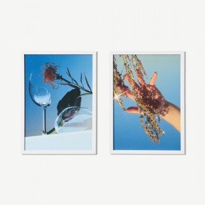 MADE.COM MEP Studio Broken Artichoke, set van 2 ingelijste prints, door Julia et Vincent, A3