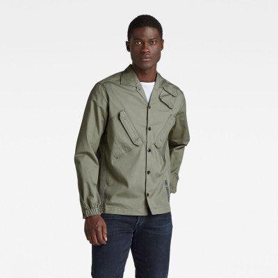 G-Star RAW Multi Slant Pocket Relaxed Shirt - Groen - Heren