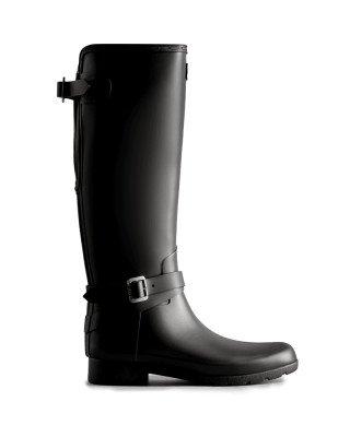 Hunter Boots Women's Refined Slim Fit Adjustable Tall Wellington Boots