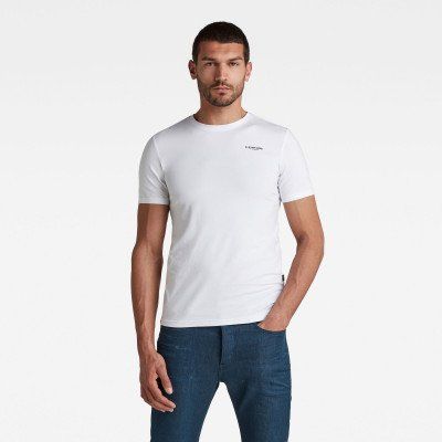 G-Star RAW Slim Base T-Shirt - Wit - Heren