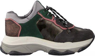 Grijze Bronx Lage Sneakers Baisley