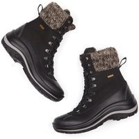 Will's Vegan Shoes Will's Vegan Shoes unisex vegan Sneeuwlaarzen WVSport Zwart Zwart 36 Microfibre (micronappa, microsuède)/PU