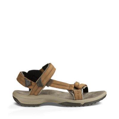 Teva Teva Terra Fi Lite Leather Sandalen, Bruin voor Dames, Maat 38