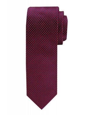 Profuomo Profuomo heren rood dessin zijden stropdas