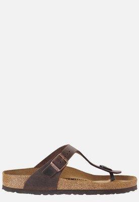 Birkenstock Birkenstock Gizeh Habana slippers bruin