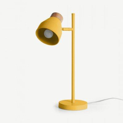 MADE.COM Albert tafellamp, mosterdgeel