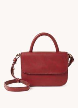O My Bag O My Bag Nano Ruby Classic crossbodytas van leer
