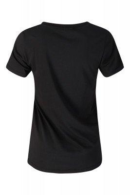Colourful Rebel Colourful Rebel Shirt / Top Zwart 8239