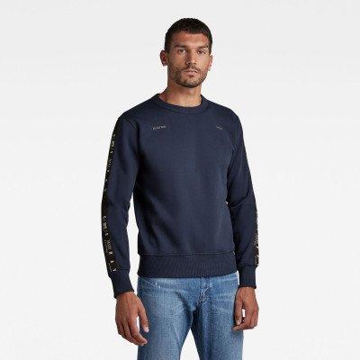 G-Star RAW Sport Stripe Sweater - Donkerblauw - Heren
