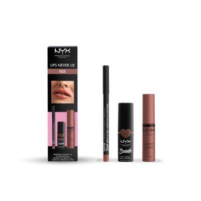 NYX Professional Makeup NYX Professional Makeup Lips Never Lie Set Nude