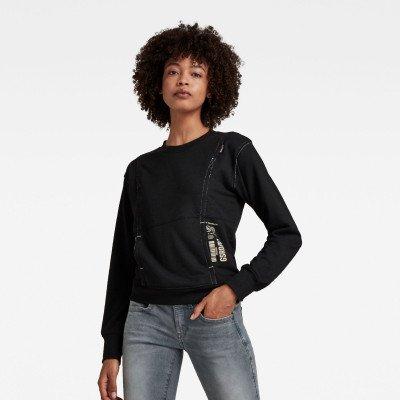 G-Star RAW Graphic Pocket Tweater - Grijs - Dames