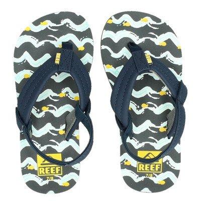 Reef Reef Little Ahi Fish slippers