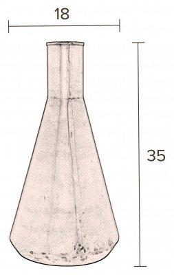 Dutchbone Dutchbone Vaas 'Hari' 35cm