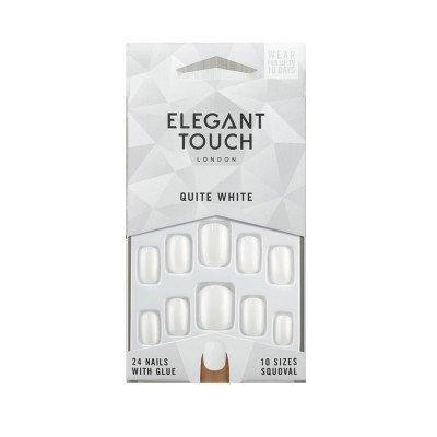 Elegant Touch Elegant Touch Quite White Nagels