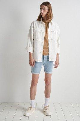 nu-in Roll Up Denim Shorts