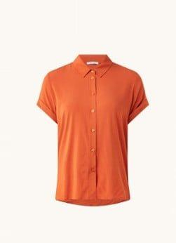SAMSØE SAMSØE SAMSØE SAMSØE Majan blouse met korte mouw