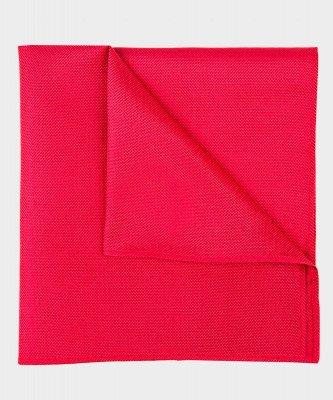 Michaelis Michaelis heren zijden pochet rood