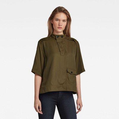 G-Star RAW Swedish Collar Shirt - Groen - Dames